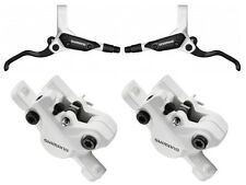 Shimano br-m 395 freno de disco blanco set-Deore 445 White Disc Brake bl-m395