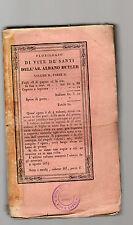 florilegio di vite de' santi dell'abate albano butler volume II parte II - 1854