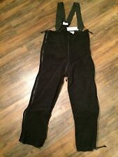 Classic 200 POLARTEC Extreme Cold Weather Black Fleece Overall NEW MEDIUM LONG