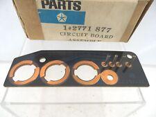 Circuit Board Dash Lights 1967-1968 Chrysler 300 Newport New Yorker T&C 2771877