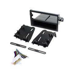 Radio Replacement Dash Mounting Kit Single DIN & Harness for Suzuki/Chevy/Daewoo