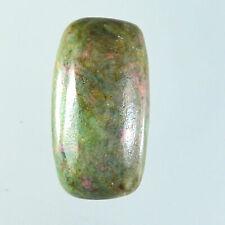 43.30 Ct Natural Ruby Fuchsite pendant bead Cabochon undrill gemstone