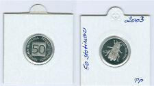 Slowenien 50 Stotinov 2003 PP  Nur 800 Stück!