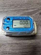 Digital Electronic Fuel Meter 1 12 15 Inch Npt Female Inlet 15 100lmin Flow