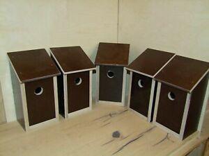 7-er Set: Vogelhaus, Nistkasten, Bruthöhle,Vogelzucht aus wasserfestem Siebdruck