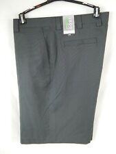 Izod XFG Mens Size 38 Charcoal Pin Stripe Shorts UPF 50 Cool FX NWT Golf Dress