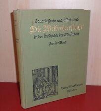 Fuchs/Kind, Die Weiberherrschaft.Band 2. Langen 1913   #10065
