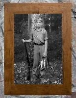 "Vintage Hunting ... Boy Hunting Squirrel ... Antique 5""x7"" Photo Print"