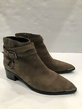 Marc Fisher  Women's Brown Seude Bootie Size 38