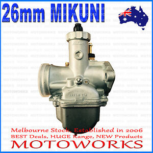 VM22 PZ26 mm MIKUNI Racing Carby Carburetor 125cc 150CC BIKE DIRT PIT TRAIL QUAD