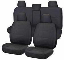 SINGLE R M WILLIAMS COTTON CANVAS SEAT COVER FOR VOLKSWAGEN AMAROK V6