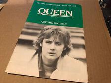 More details for queen autumn 1980 original fanclub magazine excellent