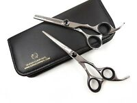 "Professional Barber Hairdressing Scissors Haircutting Thinning 6"" JAPANESE STEEL"