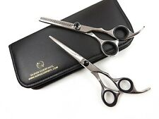 "Professional Barber Hairdressing Scissors And Thinning 6.5"" In JAPANESE STEEL"