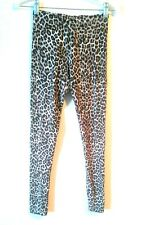 H&M TIGHTS LEOPARD PRINT SUPER COMFORTABLE SIZE XS