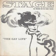 "Barbara Cook ""THE GAY LIFE"" Walter Chiari / Jules Munshin 1961 Tryout Playbill"