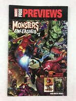 Marvel Free Previews Monsters Unleashed #1 March 2017 Comic Book Marvel Comics