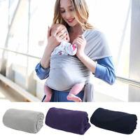 Kid Baby Sling Stretchy Cover Wrap Infant Carrier Breastfeeding Newborn Birth