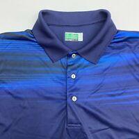 Ben Hogan Polo Shirt Men's Size 2XL XXL Short Sleeve Navy Performance Casual