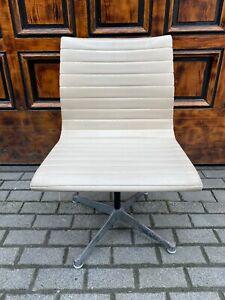 1/2 Herman Miller Drehstuhl Charles & Ray Eames Bürostuhl Office Aluminium SKAI
