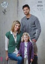 Aran Girls Clothing/Shoes Crocheting & Knitting Patterns