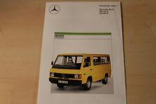70436) Mercedes MB 100 D Kombi technische Daten Prospekt 08/1987