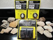3PACK!! HKS Speedloader 2-pack of Model 29-M Magnum.44 MAG! WITH POUCH
