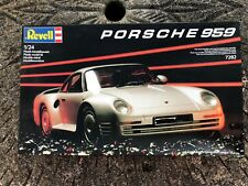 Revell 1/24 Porsche 959 Plastic kit - complete in box & unassembled
