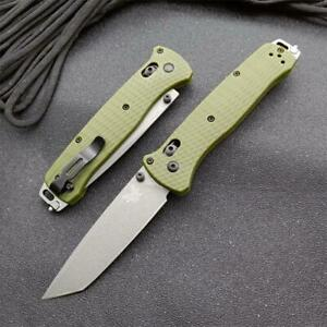 New CNC CPM-3v Blade Nylon Glass Fiber Handle AXIS Lock Folding Knife EDC 537GY
