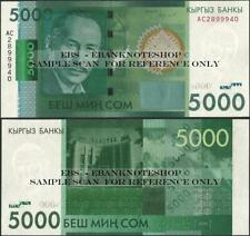 Kyrgyzstan,P30,5000 Som, 2016,Uncirculated  - Ebanknoteshop