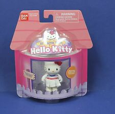 "Sanrio Bandai At Home with Hello Kitty 2"" FigureTennis Player MOC 2003 Cute!"