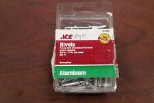 Ace 2014207 New Aluminum Rivets (Qty 48)