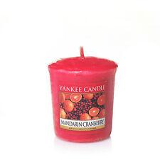 YANKEE CANDLE Candela profumata votiva Mandarin Cranberry durata 15 ore
