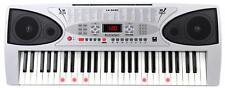54 Tasten Leuchttasten Keyboard E-Piano Lern Klavier 100 Sounds & Rhythmen