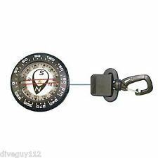 Retractable Compass Gauge Scuba Dive Replacement Retractor 24in D718