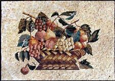 Mosaic Kitchen Backsplash- Grocery Mosaic Food And Drink Mosaic Tile
