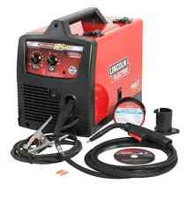 Lincoln Electric 125-Amp Weld Pak HD Flux Cored Wire Feed Welder Welding Machine