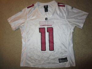 Larry Fitzgerald #11 Arizona Cardinals Super Bowl NFL Reebok Jersey Womens LG L