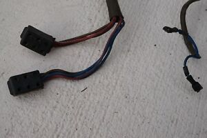 Early Porsche 924 944 DOOR Wire Harness Pigtail Good Connector Housing