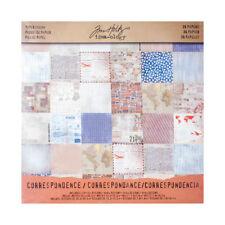 Advantus - Tim Holtz - Ideaology - Correspondence 12x12 Paper Pad