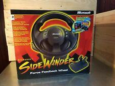 Used Microsoft Sidewinder Force Feedback Wheel