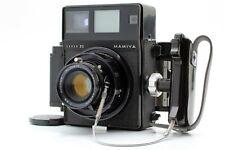 【N.MINT】 Mamiya Press Super23 Black 6x9 w/ Sekor 100mm F3.5 Lens From JAPAN 1306
