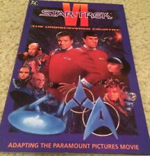 DC Comics Trade Paperback Adaptation Of Star Trek VI Undiscovered Country 1991