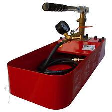 Pompe d'épreuve de fuites – pompe de pression 50 bar 7 litres – manuelle