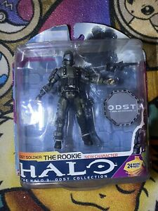 New McFarlane Toys Halo 3: ODST Soldier: The Rookie /w Moving Parts