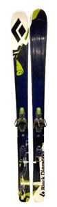 Black Diamond Kilowatt Skis & Telemark Bindings 155 cm No Cables 124/95/110
