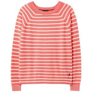 Joules Vicky Knitted Jumper - Melon Stripe - RRP £39.95