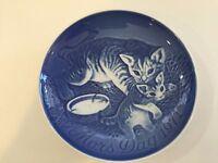 "Vintage B&G Bing & Grondahl 1971 Mors Dag Mother's Day Cats Plate, 6"" D"