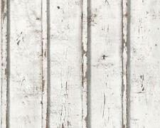 Holzoptik Tapete A.S. Création Vliestapete in Holz Optik Shabby Chic Modern NEU