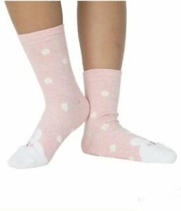 Iconic Cute Rabbit with Egg Texture Socks (Pink)